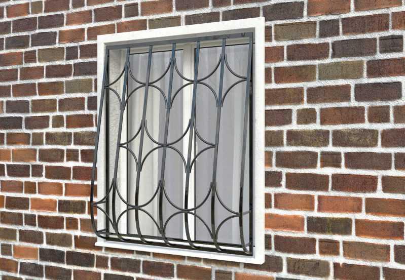 Фото 2 - Дутая решетка на окна ДТ0015.