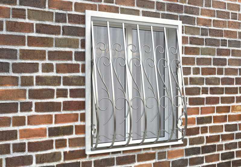 Фото 3 - Дутая решетка на окна ДТ0019.