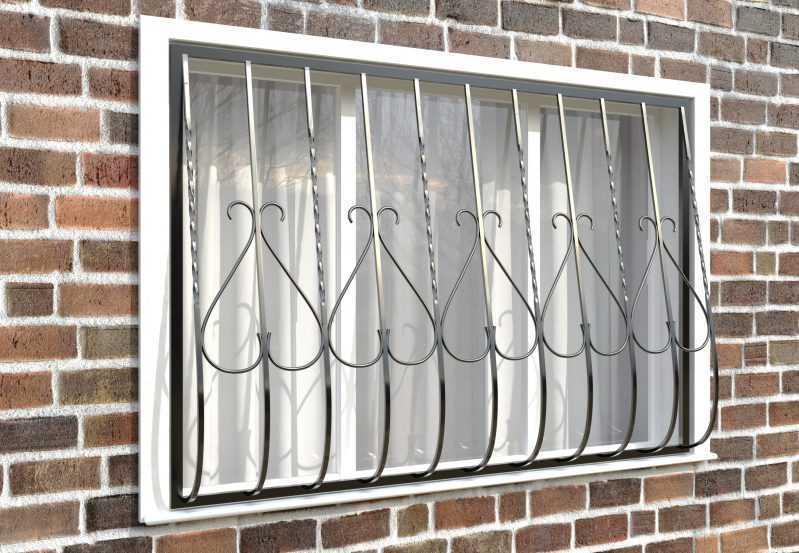 Фото 3 - Дутая решетка на окна ДТ0005.