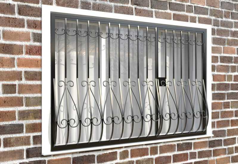 Фото 4 - Дутая решетка на окна ДТ0018.