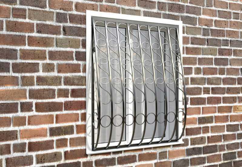 Фото 3 - Дутая решетка на окна ДТ0033.
