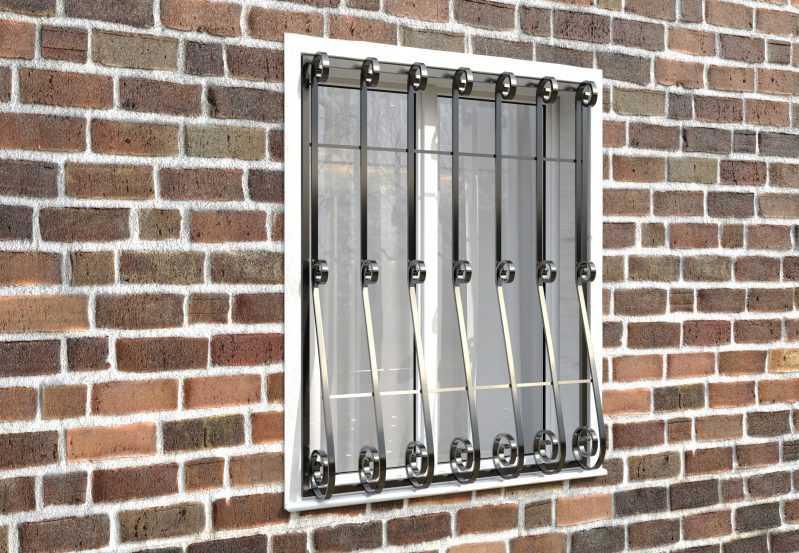 Фото 3 - Дутая решетка на окна ДТ0027.