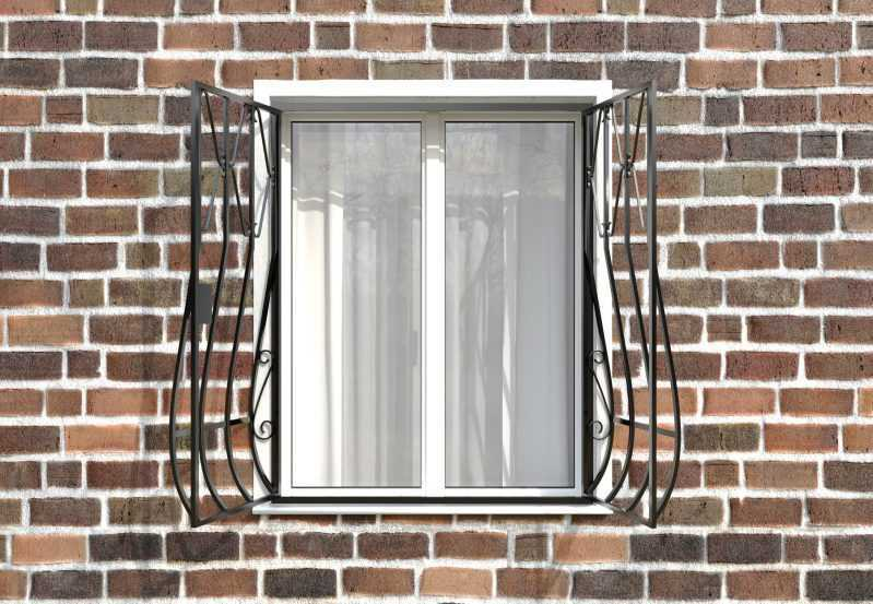 Фото 2 - Дутая решетка на окна ДТ0002.