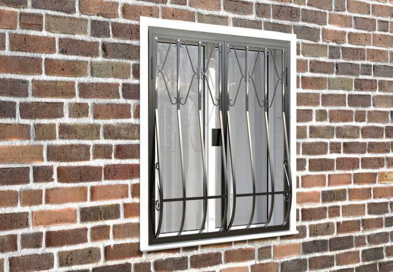 Фото 4 - Дутая решетка на окна ДТ0002.