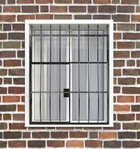 Фото 8 - Дутая решетка на окна ДТ0003.