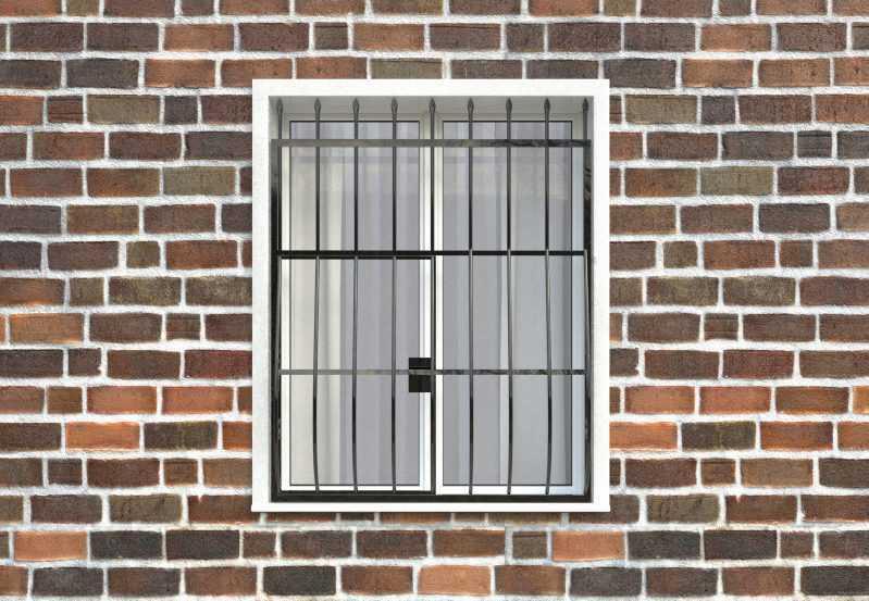 Фото 1 - Дутая решетка на окна ДТ0003.