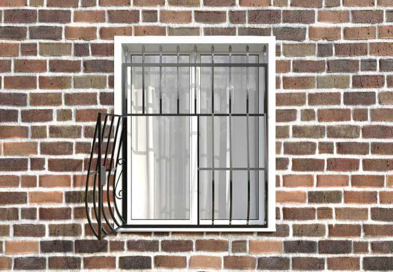 Фото 2 - Дутая решетка на окна ДТ0003.