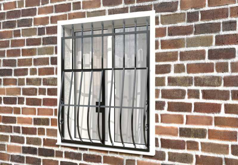 Фото 3 - Дутая решетка на окна ДТ0003.