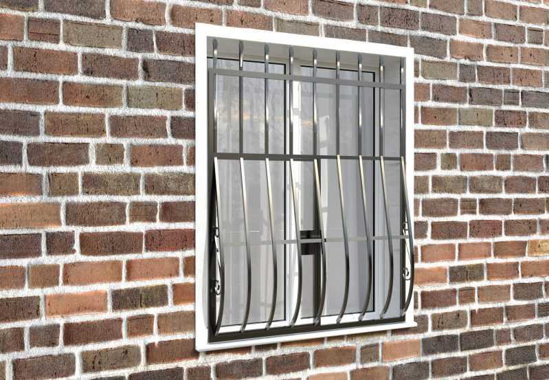 Фото 4 - Дутая решетка на окна ДТ0003.