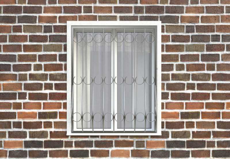 Фото 1 - Дутая решетка на окна ДТ0001.