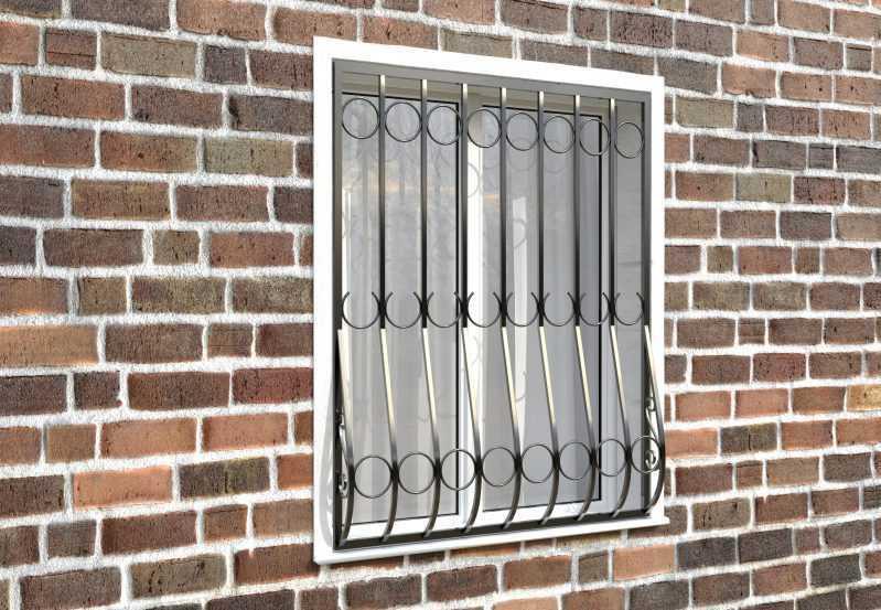 Фото 3 - Дутая решетка на окна ДТ0001.