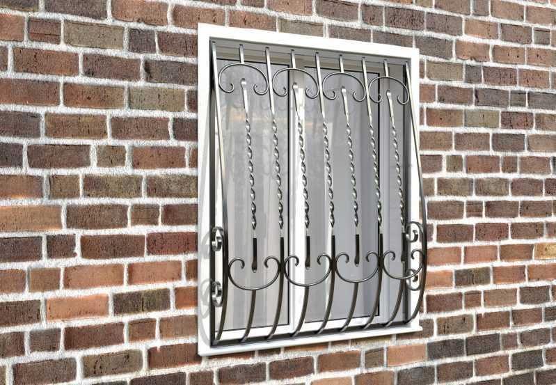 Фото 3 - Кованая решетка на окно КР-0011.