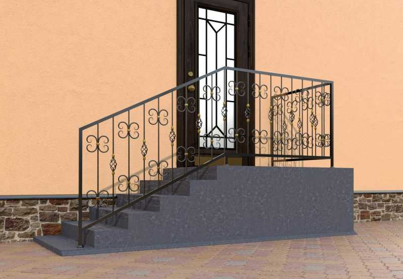 Фото 3 - Перила для лестниц П-004.