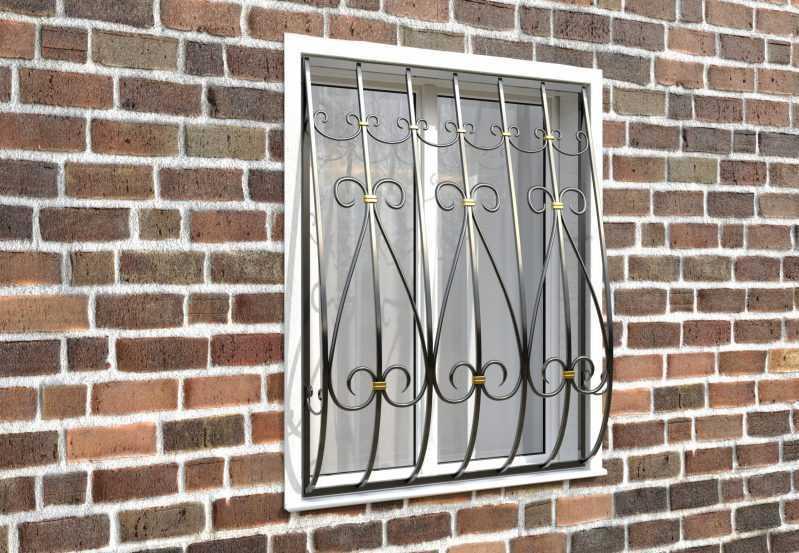 Фото 3 - Кованая решетка на окно КР-0020.