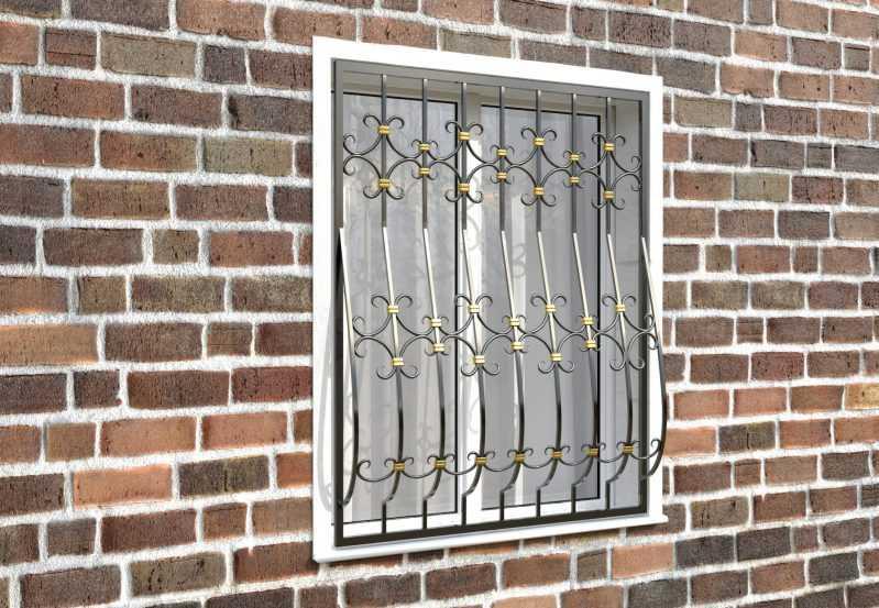 Фото 3 - Кованая решетка на окно КР-0027.