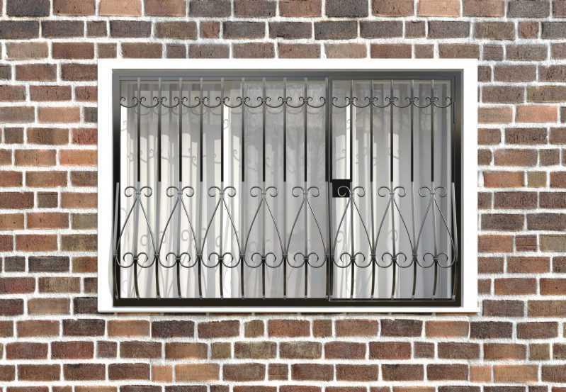 Фото 1 - Кованая решетка на окно КР-002.