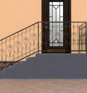 Фото 4 - Перила для лестниц П-003.