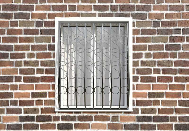 Фото 1 - Кованая решетка на окно КР - 0014.