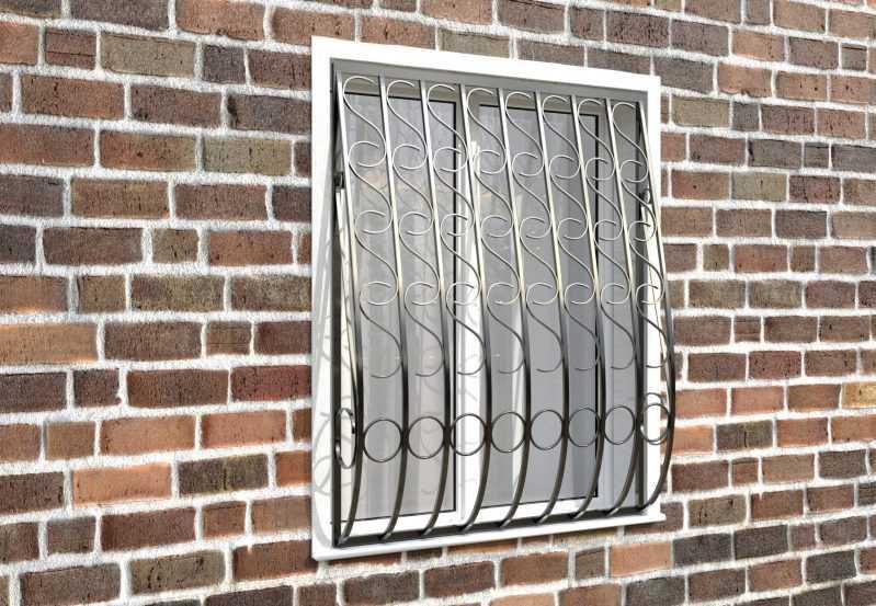 Фото 3 - Кованая решетка на окно КР - 0014.