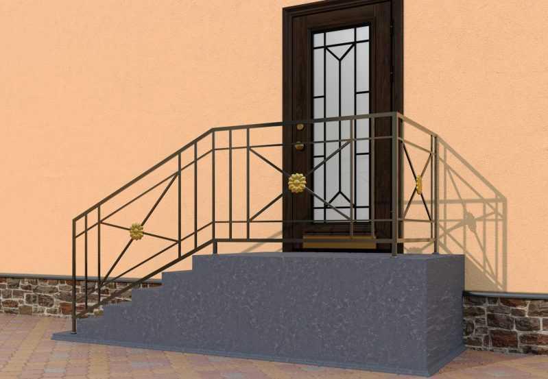 Фото 3 - Перила для лестниц П-001.