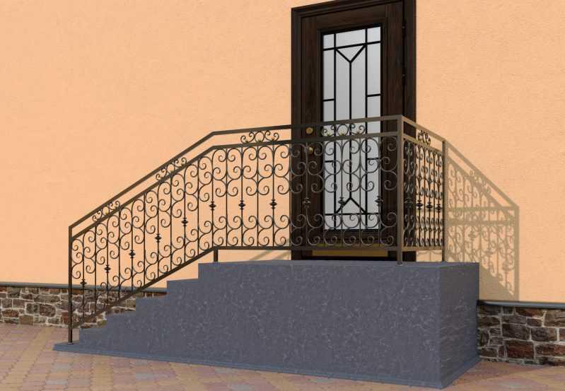 Фото 3 - Перила для лестниц П-0013.