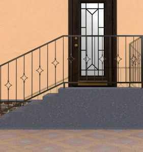 Фото 6 - Перила для лестниц П-002.