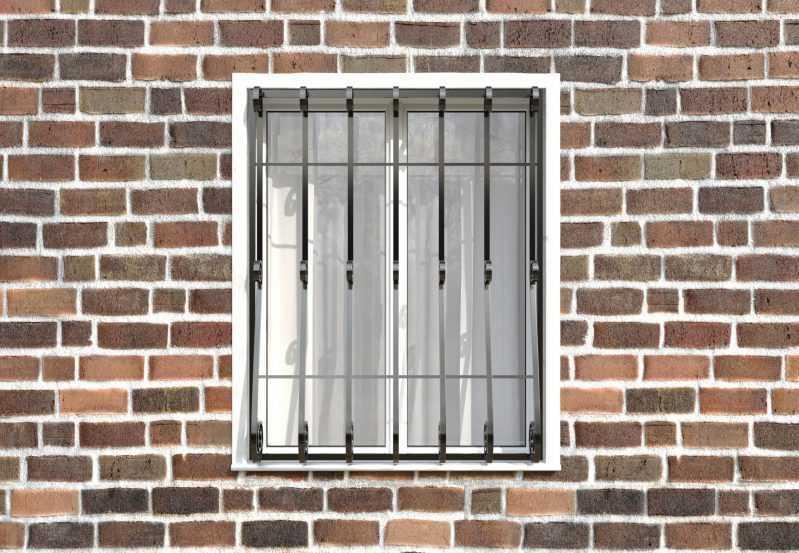 Фото 1 - Кованая решетка на окно КР-009.