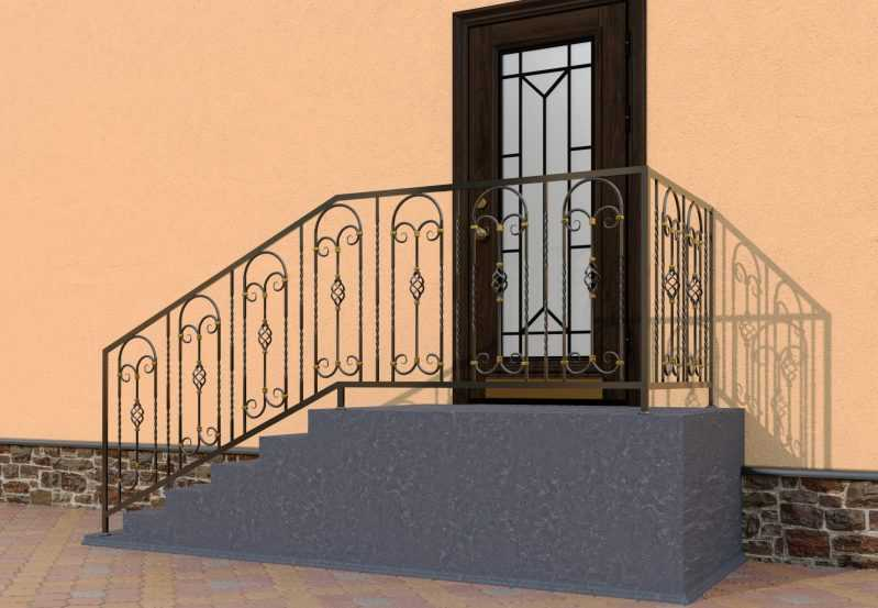 Фото 3 - Перила для лестниц П-0010.