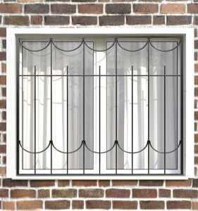 Фото 4 - Сварная решетка на окно РС0020.