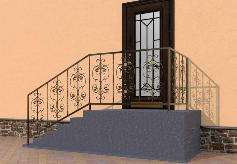Фото 3 - Перила для лестниц П-0012.