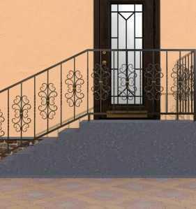 Фото 26 - Перила для лестниц П-0011.