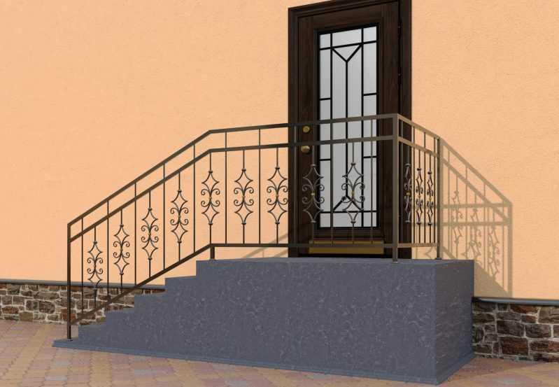 Фото 3 - Перила для лестниц П-007.