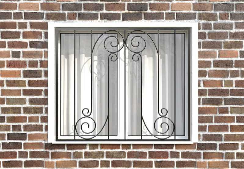 Фото 1 - Сварная решетка на окно РС0024.