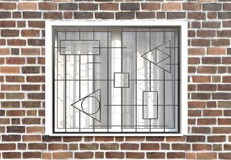 Фото 1 - Сварная решетка на окно РС0025.