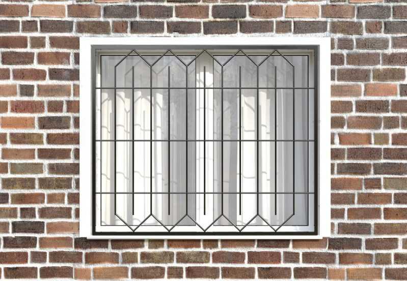 Фото 1 - Сварная решетка на окно РС0004.