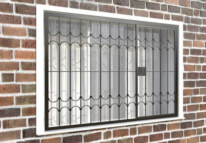 Фото 4 - Распашная решетка на окно РР-0025.