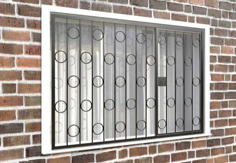 Фото 4 - Распашная решетка на окно РР-0003.