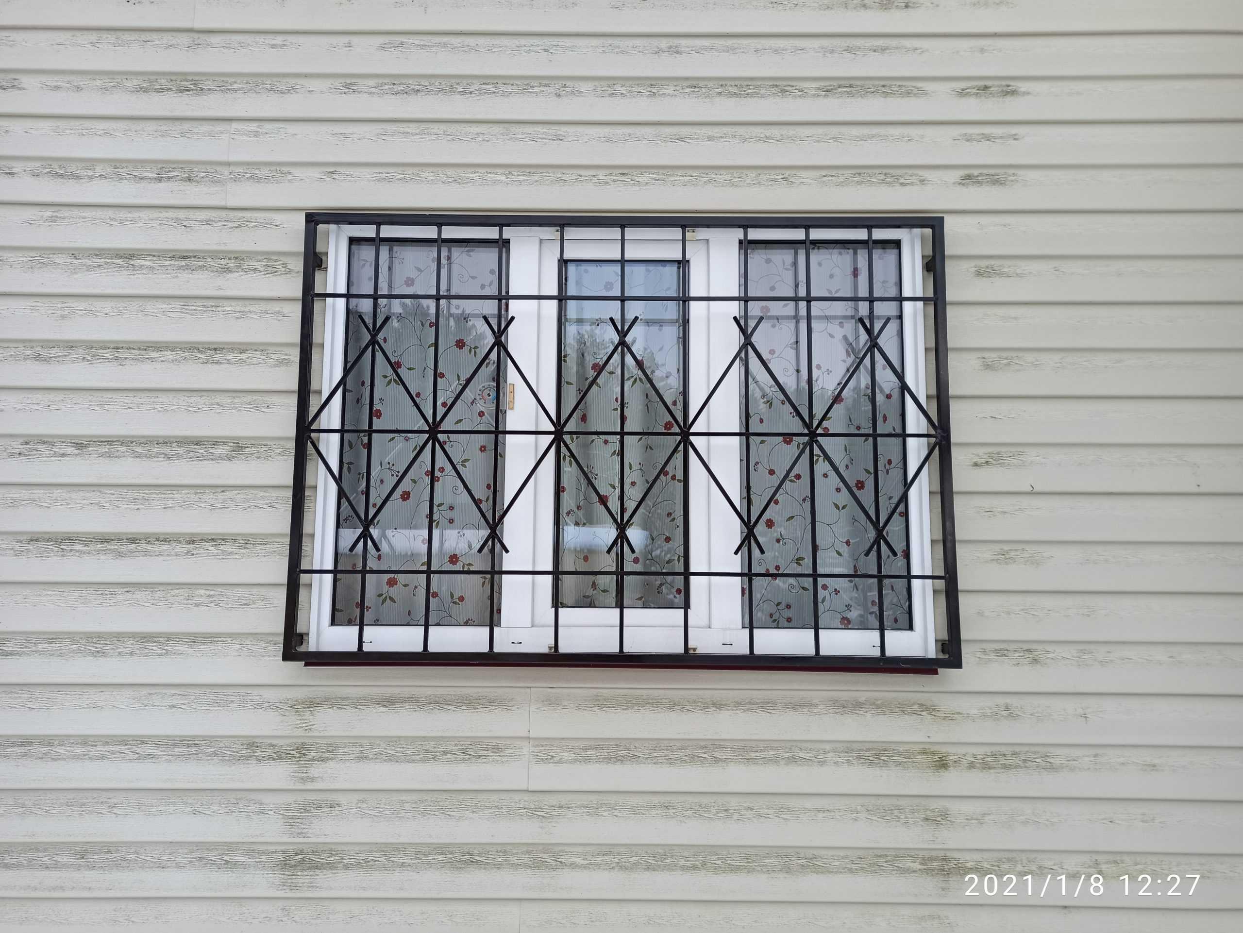 Решетки на каркасный дом