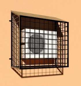 Фото 2 - Решетка для кондиционеров Р-КН 1.