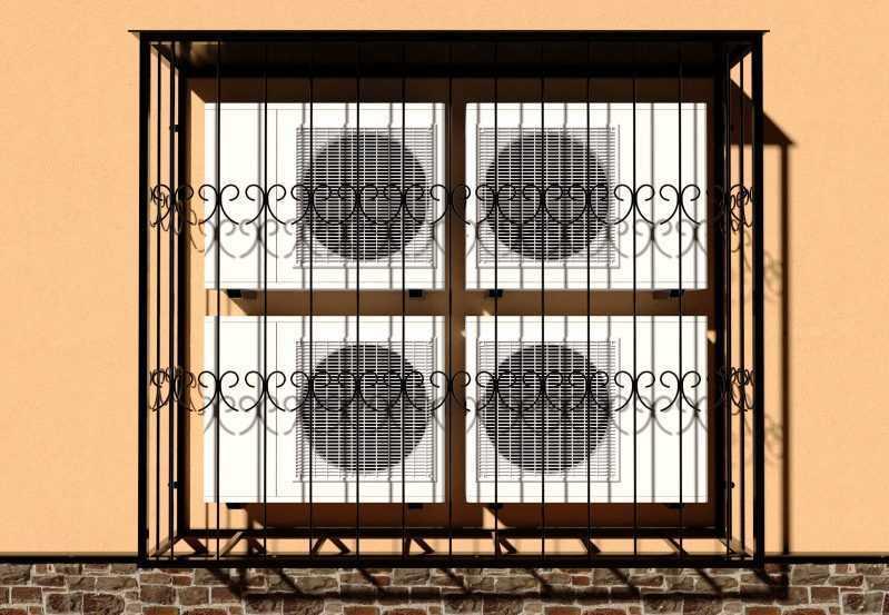 Фото 1 - Решетка для кондиционеров Р-КН 11.