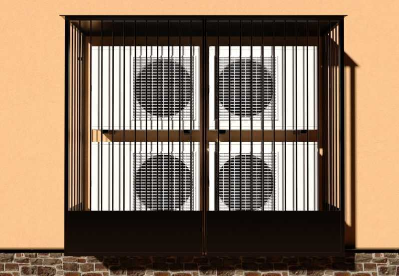 Фото 1 - Решетка для кондиционеров Р-КН 10.