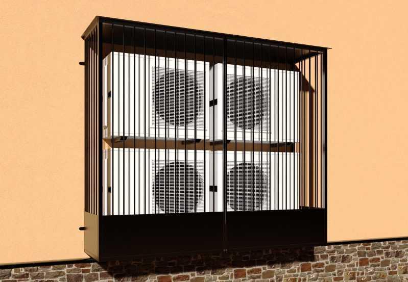 Фото 2 - Решетка для кондиционеров Р-КН 10.