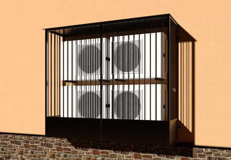 Фото 3 - Решетка для кондиционеров Р-КН 10.