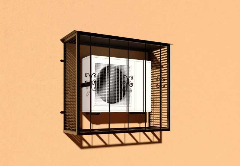 Фото 2 - Решетка для кондиционеров Р-КН 3.
