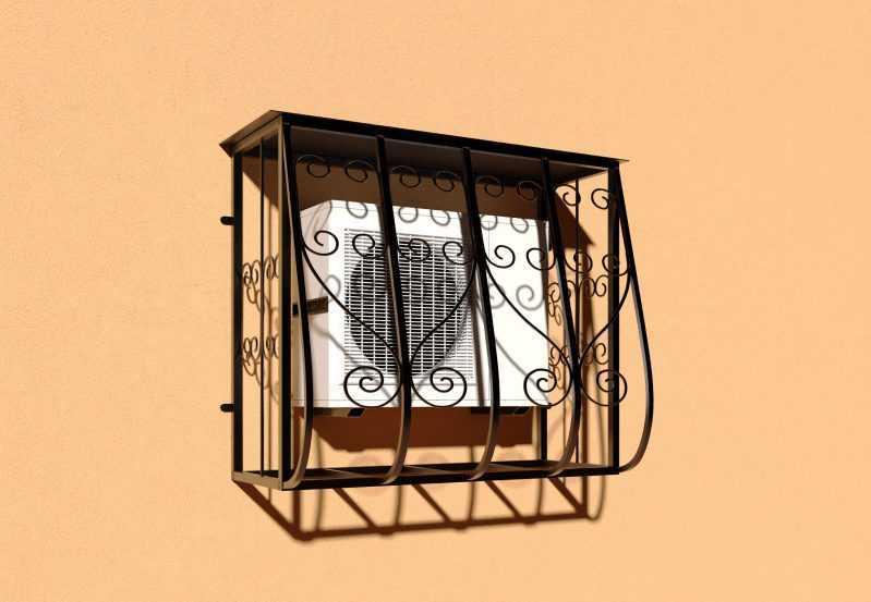 Фото 2 - Решетка для кондиционеров Р-КН 5.