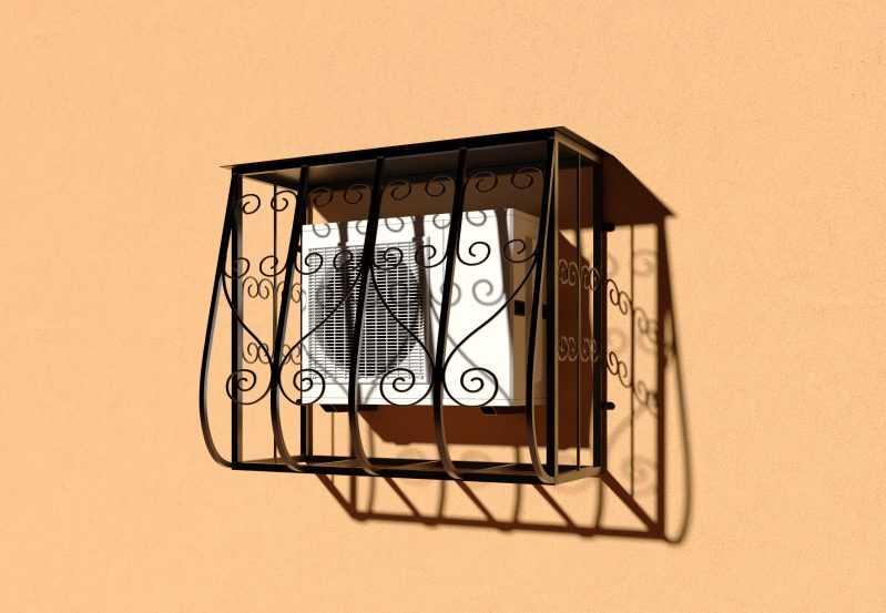 Фото 3 - Решетка для кондиционеров Р-КН 5.