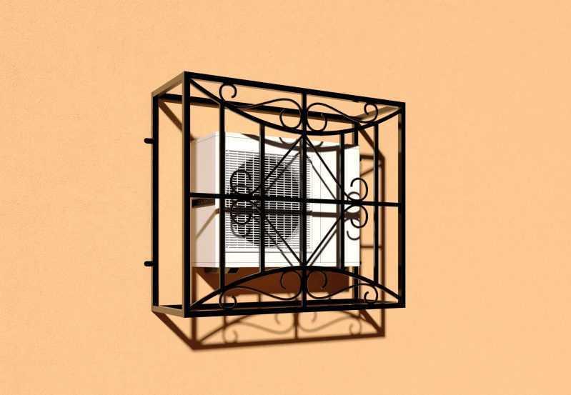Фото 2 - Решетка для кондиционеров Р-КН 6.