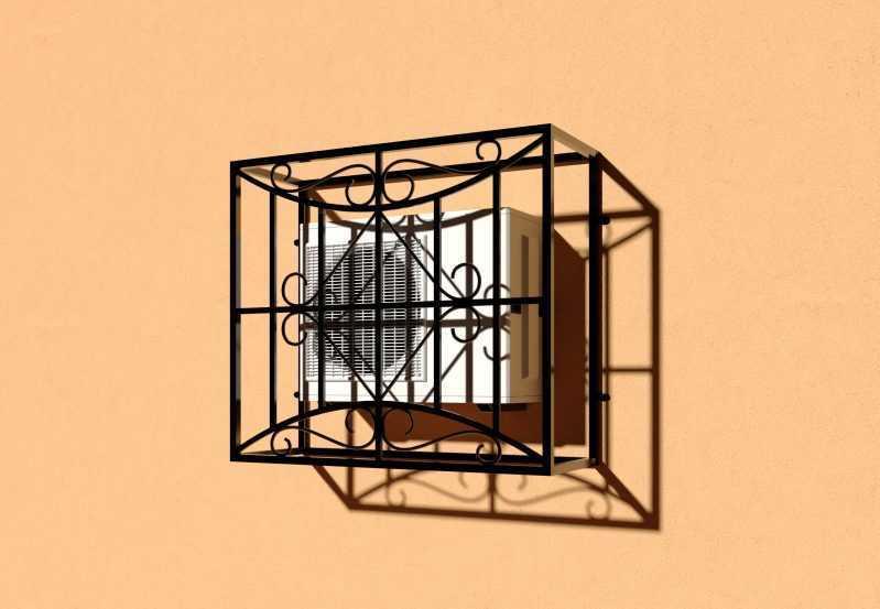 Фото 3 - Решетка для кондиционеров Р-КН 6.
