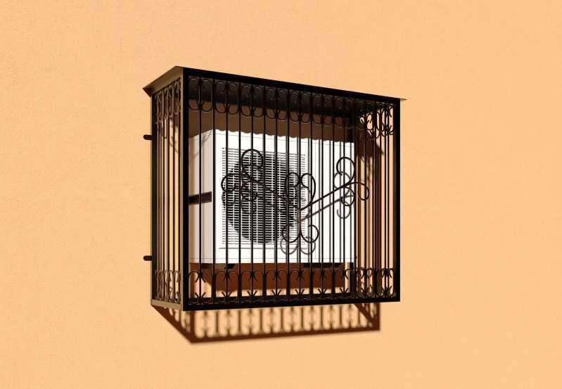 Фото 2 - Решетка для кондиционеров Р-КН 7.