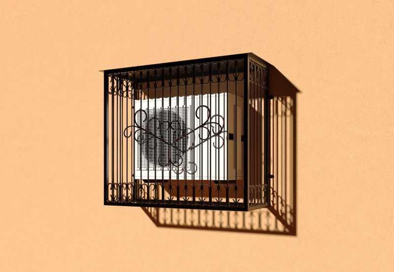 Фото 3 - Решетка для кондиционеров Р-КН 7.